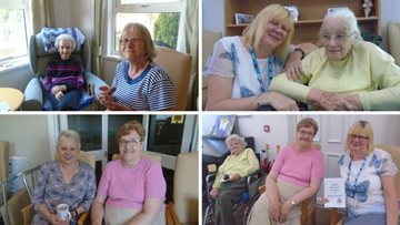 Penrith Care Home hosts a coffee morning for Dementia Awareness Week