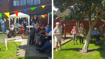 Summer fayre excitement at Acorn Hollow