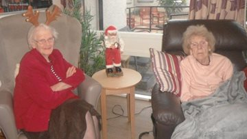 Friends reunited at Perth care home