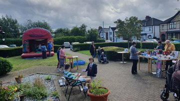 Fundraising fun day is a success at Coalville care home