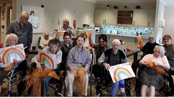 Newton Aycliffe care home Residents share positive messages