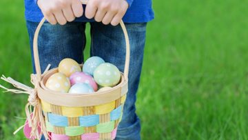 Easter Egg Hunt at Bridport care home