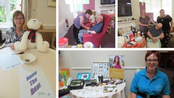 Summer celebrations at Leicester care home