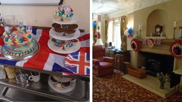 Tetbury care home celebrate 75th anniversary of VE Day