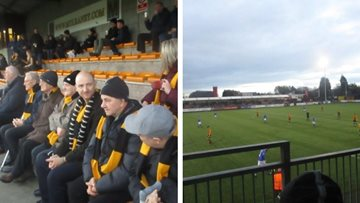 Residents receive VIP treatment at Alloa Athletic F.C match