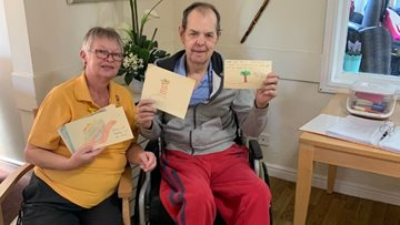 Sutton-In-Ashfield care home receive letters from school children