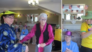 Care home Residents changing the way society views Alzheimer's