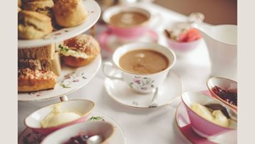 Afternoon Tea for Eastbourne care home Residents
