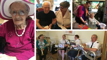 Fun-filled week for Burntwood care home Residents