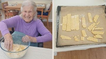 Wiltshire care home Residents bake up a storm