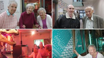 Kenton care home visit the Great North Museum