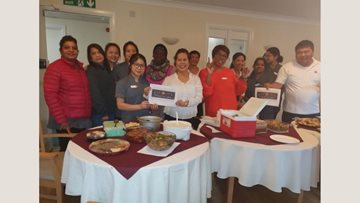 Lunch with a difference at Ashgrove care home
