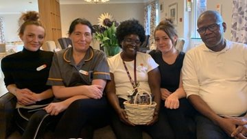Sweet delivery for newly opened Dartford care home