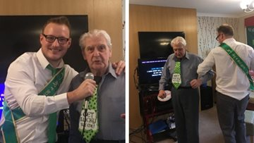 Residents enjoy St Patrick's Day celebrations at Avalon Park