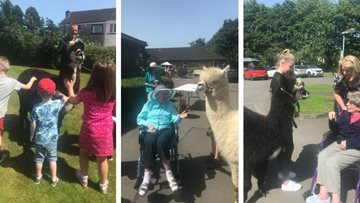 Family fun at Alloa care home open day