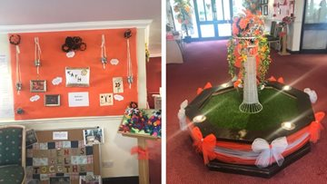 Bolton care home celebrates art at Care Home Open Day