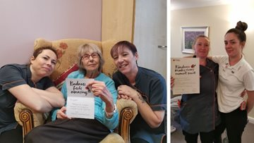 Kindness shared at Milliner House