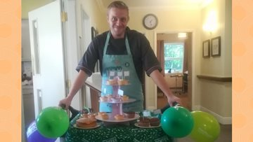 Brookdale View host Macmillan Coffee Morning