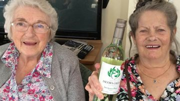 Residents triumph at care home bush tucker trial