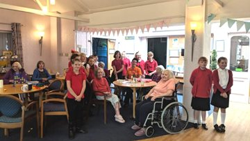 Hyde Nursing enjoy Harvest Festival