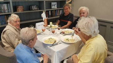 New menu taster for Residents at Jesmond care home