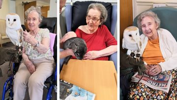Animal Mania at Tipton care home