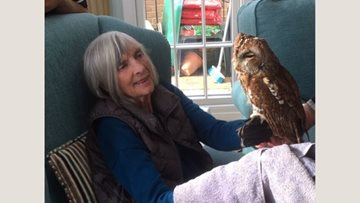 Thamesfield Residents have a hoot with Lu's Owls