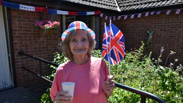 Military personnel remembered at care home's Armed Forces event