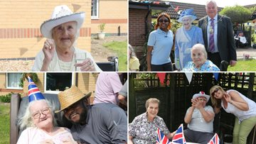 Mayor of Royal Borough of Greenwich Visits Local Care Home Open Day