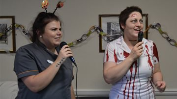 Halloween Celebrations at White Gables Care Home