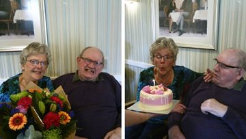 Couple celebrates diamond wedding anniversary at Arbroath care home