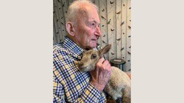 Northampton care home Resident reunited with his livestock