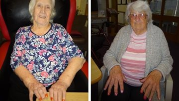 Residents at Grimsby care home delight in afternoon of pampering