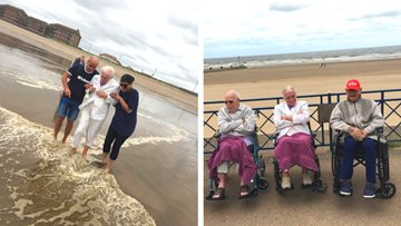 A Trip to Mablethorpe for Cedar Court