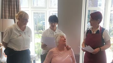 Jesmond care home hosts open day