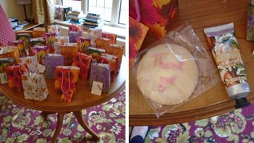 Colleagues at Tetbury care home receive lovely gifts