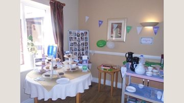 Macmillan coffee morning fun at Warrens Hall