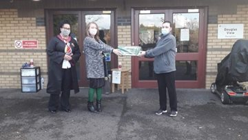 Hamilton care home receive donations from local supermarket