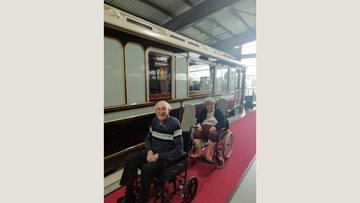 'All aboard' for Orchard Mews care home Residents