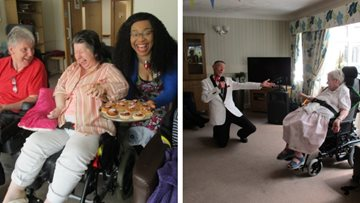Care Home Open Day celebrations in full swing at Hinckley Park