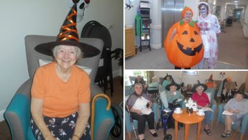 Residents at Morpeth care home enjoy spooktacular day