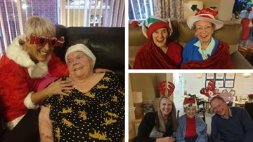 Swallownest care home hosts fab-yule-ous Christmas party
