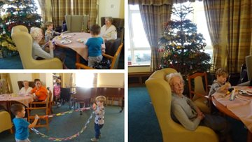 Intergenerational fun at Bexhill-on-Sea care home