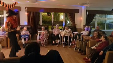 Willow Brook care home hosts Halloween Party