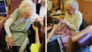 Beeches Care Home enjoy visit from Zoolab