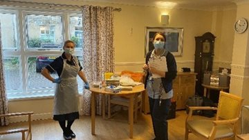 County Durham care home Residents get the long-awaited coronavirus vaccine