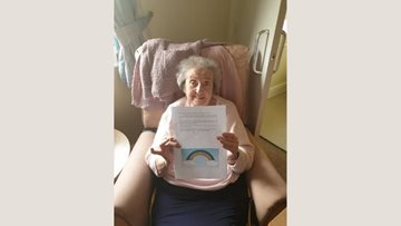 Wigan care home Residents enjoy new pen pal initiative