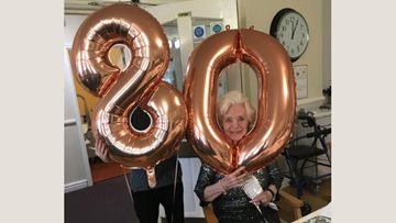 Triple birthday celebrations for Residents at Oakland