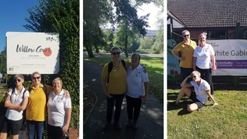 Skellingthorpe care home goes the 'extra mile' for fundraising success