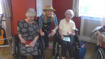 Grimsby care home host harvest festival celebrations